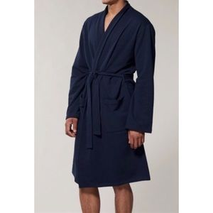 Indigo Men's Dark Navy Reading Robe